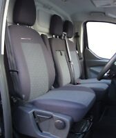 Made to measure seat covers for Ford Transit Custom  2019 full set 2+1