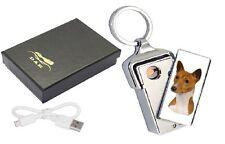 basenji dog design usb aufladbare flameless lighter mit pfoten 2 print