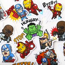 New listing 40 Lot Super Hero Random Stickers Pack Bomb Skateboard Laptop Luggage Car Decals