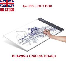 A4 LED Craft Tracing Light Box Drawing Board Stencil Diamond Painting Thin Pad