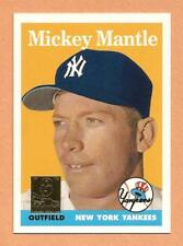 MICKEY MANTLE 1996 Topps Reprint #8 Yankees (1958 Topps)