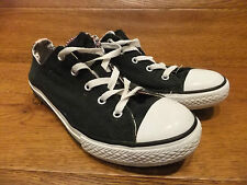 Converse CT All Star Lo 2 Tongues Black Canvas Casual Trainers Size UK 5 EUR 38