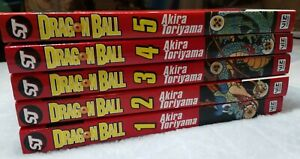 Dragonball Manga Volumes 1-5
