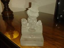 Zio Paperone Uncle Scrooge Statuetta vetro satinato Rarissima Disney Production