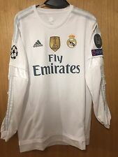 Camiseta  Real Madrid CASEMIRO CHAMPIONS LEAGUE 2015/2016 Shirt Long Adidas