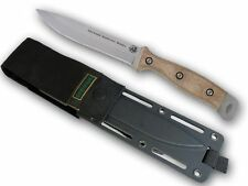 KNIVES OF ALASKA 00844FG DEFENSE SURVIVAL D2 FIXED BLADE KNIFE W/ TAN HANDLE