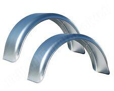 2x Schutzblech Kotflügel 200x660mm 20x66 cm Schutzbleche für Pkw Anhänger Metall