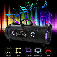 Wireless Portable bluetooth Speaker Stereo Super Bass HIFI AUX USB TF FM Music
