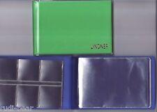 Münzen-Taschenalbum für 48 Münzen (bis 2 Euro/ Zloty)  in hellgrün    Li2070