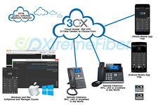 Cloud Hosted 3CX PBX or FusionPBX Phone System VPS Free Configuration n Support