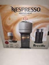 Breville Nespresso Vertuo Next Coffee & Espresso Machine with Aeroccino Cherry