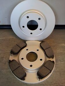 NISSAN JUKE FRONT BRAKE DISCS AND PADS 1.5 DCI, 1.6 (2010-2020) - NOT 1.6 DIG-T
