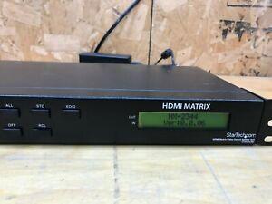 StarTech HDMI Matrix Video Switch Splitter 4X4 225MHZ VS440HDMI HX-2344