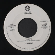 COLDPLAY: Yellow / Trouble 45 (dj) Rock & Pop