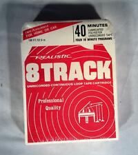 New & Sealed! Radio Shack Realistic 40 Minute 8 Track - Free Shipping!