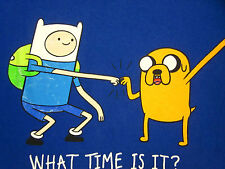 ADVENTURE TIME lrg T shirt Finn & Jake OG Cartoon Network series Land of Ooo TV
