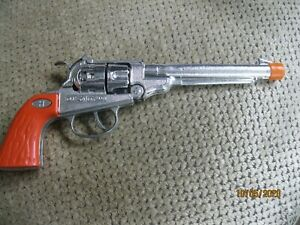 Vintage Circle H Toy Cap Pistol w/Orange Plug Permanently Attached ~*~*