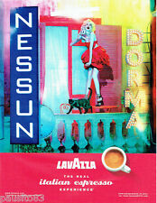 PUBLICITE ADVERTISING 056  2010  le café Lavazza  esspresso