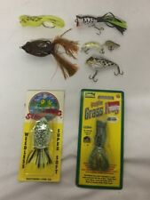 Frog Fishing Lures (Seven) Misc new ..........(205-23)