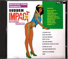 Shocking Vibes Presents -Sudden Impact Vol. 1 CD (Best Of Reggae/Little Kirk)