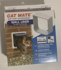 Cat Mate Wall Liner For Walls Of All Thickness/Cat Flap Assecories