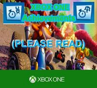 Crash Team Racing Nitro Fueled XBOX ONE Time-Master & Gasmoxian Slug Achievement