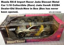 Mazda RX-8 Import Racer Jada Diecast Metal Car 1:18 Collectible (US Supplier)