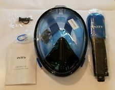 Intey brand full face snorkel mask, brand new, never used.