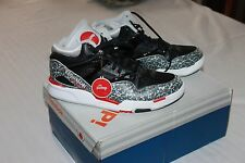 NWT Reebok Omni lite pump black/white with red basketball shoes size 7.5 mens