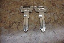 2 Suzuki GSXR Katana Marauder Bandit Key Blank 88-95 Intruder GSX GSF GS 500 800