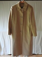 CINZIA ROCCA WOMEN'S LONG CAMEL COAT, SIZE 8