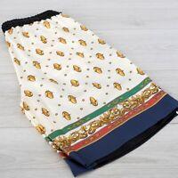 GUCCI 950$ Multi Color Silk Bi Material Shorts