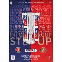 2019 SkyBet League One Play-Off Final Programme - Charlton Athletic v Sunderland