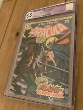 Tomb of Dracula #10 CGC 5.5  UK Price Variant - 1st Appearance of Blade.