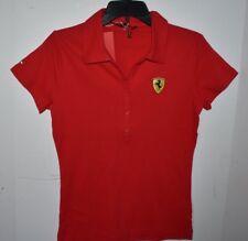 Ferrari Team Ladies Classic Polo shirt Red size M NWT $85