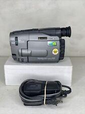 Sony Handycam CCD-TRV81 Hi8 8mm Video 8 Camcorder Tape Transfer, Battery -Tested