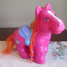 My Little Pony   FAKIE Cabbage Patch LARGE Pink BUTTERFLY CPK eyelashes ORANGE