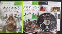 Assassin's Creed: Brotherhood (Xbox 360, 2010, 2-discs) W/Bonus Content Disc VGC