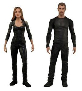 """Divergent Four & Tris 7"""" Action Figures Set  [NEC26996]"""