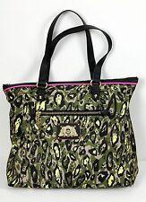 NWT Juicy Couture Penny Nylon Camo Tote Satchel Gym Sport Shoulder Bag Shopper -