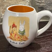 Rae Dunn Hello Fall Squirrel/Rabbit Artisan Collection by Magenta Mug 16 oz.