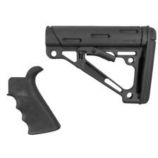 Hogue 15056 Black Beavertail Pistol Grip & Mil-Spec Collapsible Butt Stock Kit