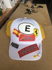 Ferrari Cap Signed Alonzo Rare