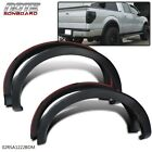 FIT FOR 09-14 FORD F150 MATTE BLACK FENDER FLARE WHEEL PROTECTOR PAINTABLE <br/> USA Free Shipping✔ USA Seller✔ Best Offer✔
