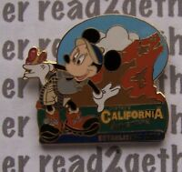 Disney Pin DCA Grizzly Peak with Minnie Mouse