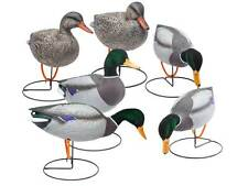 Final Approach Gunners HD Field Mallard Decoys with Flocked Heads, 6 Pack