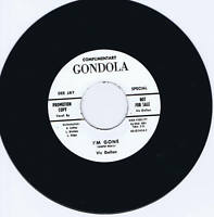 VIC GALLON - I'M GONE / I'M GONE alternate take - MONSTER RARE ROCKABILLY REPRO