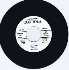VIC GALLON - I'M GONE / I'M GONE alternate take - MONSTER RARE ROCKABILLY REPRO