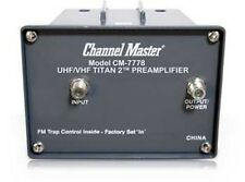 Channel Master CM-7778 TITAN 2 Antenna Preamplifier - UHF VHF FM 7778 Preamp