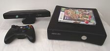Microsoft Xbox 360 S with Kinect 4 GB Matte Black Console (PAL)
